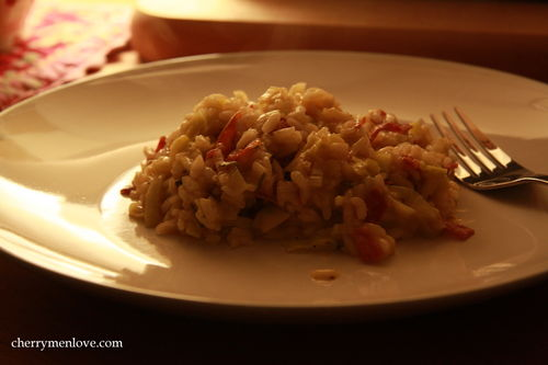 Winter supper Risotto - Cherry Menlove