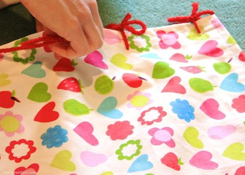 How to Make a Fabric Wig-Wam for Children - 4 - Cherry Menlove