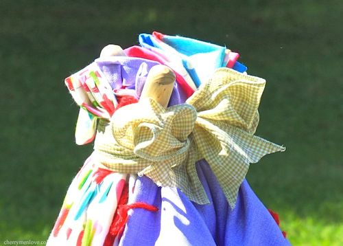How to Make a Fabric Wig-Wam for Children - 9 - Cherry Menlove