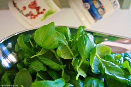 How to make Basil Pesto recipe - Cherry Menlove